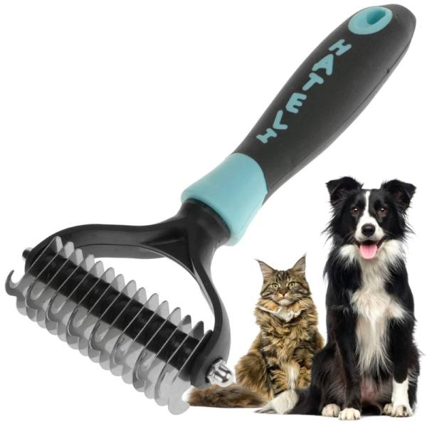 Peine para perros para desenredar y quitar nudos en el pelo